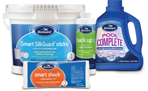Bioguard Silk Chlorine Products